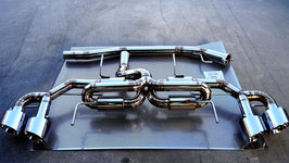 "For R35 GTR   Rear Exhaust Kit   ""TYPE-Ⅰ"""