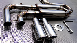 "For Volks Wagen ""scirocco""   Bolt-on muffler KIT  ""TYPE-Ⅰ"""