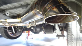 For  HIACE200 RACING MUFFLER KIT 【TYPE-Ⅱ】