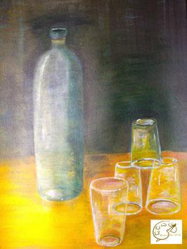 Flasche der Illusionen