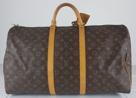 Louis Vuitton Keepall 55 mit Schloss