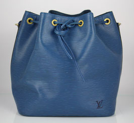 Louis Vuitton Petit Noe blau
