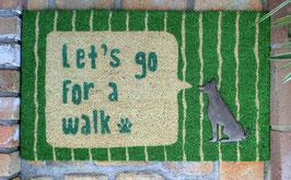 コイヤーマット(LETS GO FOR A WALK)