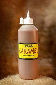 Karamelsaus met zeezout in handige knijpfles