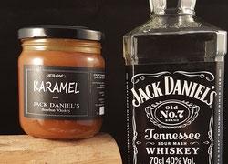 Karamelsaus met Jack Daniels Whiskey