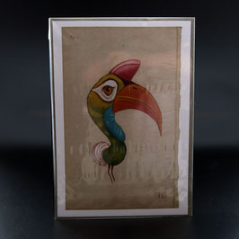 Artikel-Nr. 32F - Print Regenbogenvogel 2