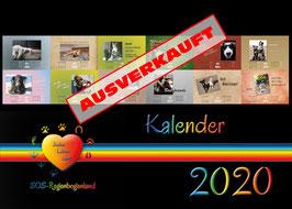 051 B Wandkalender 2020 plus immer währenden Monatskalender - Rabattaktion