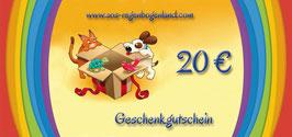Artikel-Nr. 027B - Geschenkgutschein zum Download und Selberausdrucken