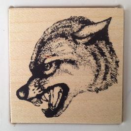 Artikel-Nr. 036F  - Stempel Wildlife Wolf
