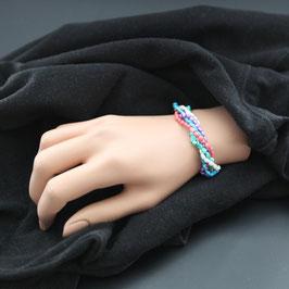 Artikel-Nr. 012R- Armband Mini-Süßwasserperlen, bunt