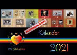 051 D Wandkalender 2021 plus immer währenden Monatskalender