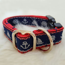 Artikel-Nr. 38 D - Gurthalsband mit Klickverschluss für kleine Hunde