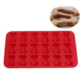 Artikel-Nr. 052D Silikonform Knochen für 18 Kekse oder Schoko-Pralinen
