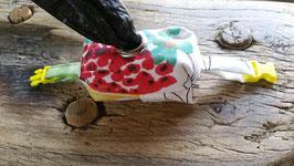 Artikel-Nr. 051K - Kotbeutel-Täschchen bunte Blumen