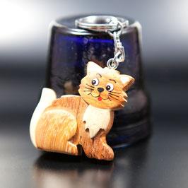 Artikel-Nr. 015AB- Holzanhänger, Katze 2