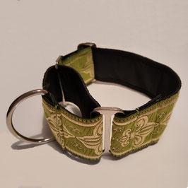 Artikel-Nr. 38 A - Martingale Halsband mit Zugstopp