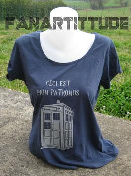 t-shirt Tardis patronus