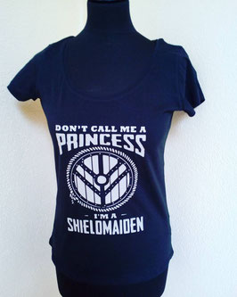"t-shirt femme viking ""i'm a shieldmaiden"""