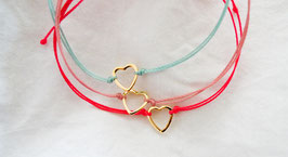 Armband COEUR in 6 Farben