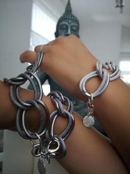 Armband GELI in Stahl matt
