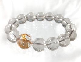 商品名:金龍彫り水晶ブレスレット RN055