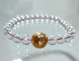 商品名:金龍彫り水晶ブレスレット RN190516