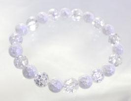 商品名:クラック水晶ブレスレットB904192