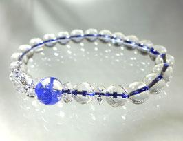 商品名:青龍彫り水晶ブレスレット RN086