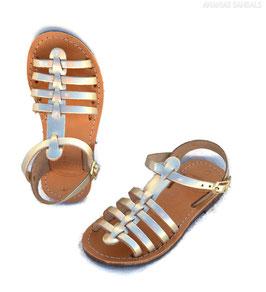 Roman children leather Sandals