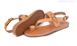 Zehenschlaufe Sandalen mit Fersenriemen - Tracking Sohle