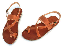Toe wrapper in tobacco brown - NEW