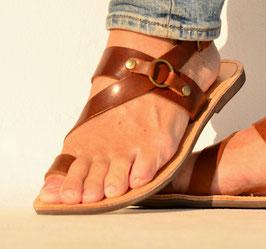 Zehenschlaufe Sandalen mit Fersenriemen - NEUE FARBE
