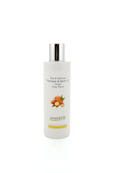 Massage & Body Oil – Argan & Rose Maroc