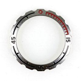 Lünette für VOSTOK AMPHIBIA Uhren von VOSTOK, Edelstahl, satiniert (matt)