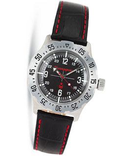 Automatic watches VOSTOK KOMANDIRSKIE K-35, stainless steel, brushed, ø42mm