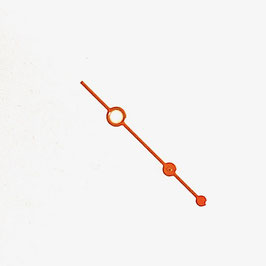 Orangener Sekundenzeiger mit SuperLumiNova AMPHIBIA und KOMANDIRSKIE Uhren von VOSTOK