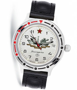 Russian automatic watch VOSTOK KOMANDIRSKIE by VOSTOK, polished, ø40mm
