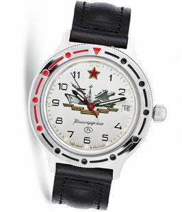 Russian automatic watch VOSTOK KOMANDIRSKIE by VOSTOK, polished, ø40mm