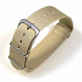 18mm NATO Armband Nylon khaki