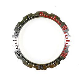 Lünette für VOSTOK AMPHIBIA Uhren von VOSTOK, Edelstahl, gebürstet