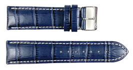 22mm, leather strap for VOSTOK watches, crocodile structure, ARM-LD22-04