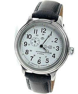 "Automatik watch ""KOMANDIRSKIE RETRO K-43"" by VOSTOK, stainless steel, brushed, black, ø42mm"