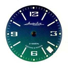 Dial 848 L VOSTOK AMPHIBIA, SuperLumiNova