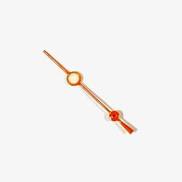 Orangener Sekundenzeiger VOSTOK AMPHIBIA Uhren mit einem 24-er Werk SEK05