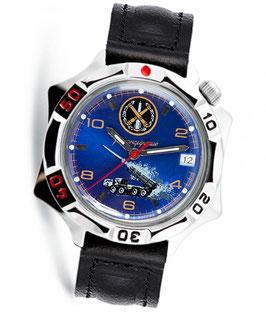 Armbanduhr KOMANDIRSKIE von VOSTOK, poliert, ø40mm