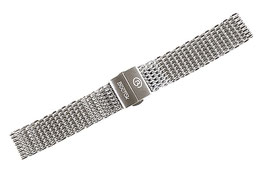 22mm, shark mesh bracelet, stainless steel bracelet for AMPHIBIA and KOMANDIRSKIE watches