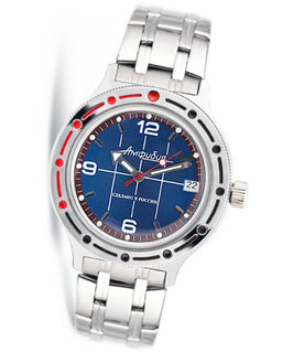 "VOSTOK ""AMPHIBIA"" K-42 automatic watch by VOSTOK, 200m water proof, stainless steel, polished, ø40mm"