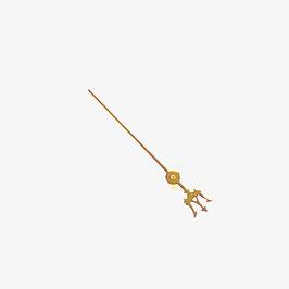 Goldener Sekundenzeiger NEPTUN mit Dreizack VOSTOK AMPHIBIA Uhren mit einem 24-er Werk