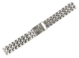 18mm, original stainless steel bracelet by VOSTOK for AMPHIBIA and KOMANDIRSKIE watches band width 18mm, ARM-18mm-ST05