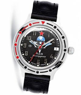 "Russian automatic watch VOSTOK KOMANDIRSKIE ""PARASHUTE"" by VOSTOK, polished, ø40mm"